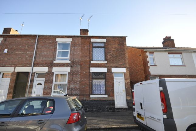 Thumbnail 2 bed end terrace house to rent in Harrington Street, Allenton, Derby