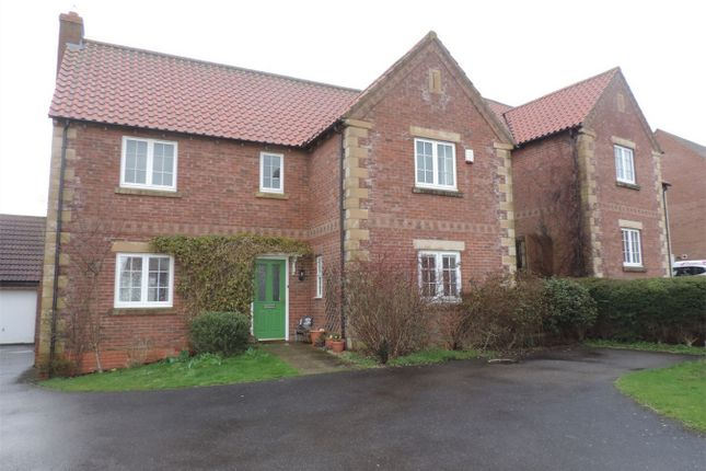 Thumbnail Detached house to rent in Pridmore Road, Corby Glen, Grantham, Lincolnshire