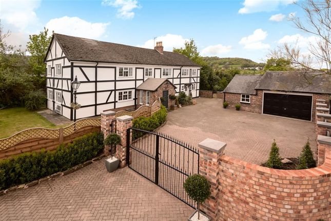 Thumbnail Detached house for sale in Hawthorn Farm, Tarvin Road, Frodsham, Cheshire