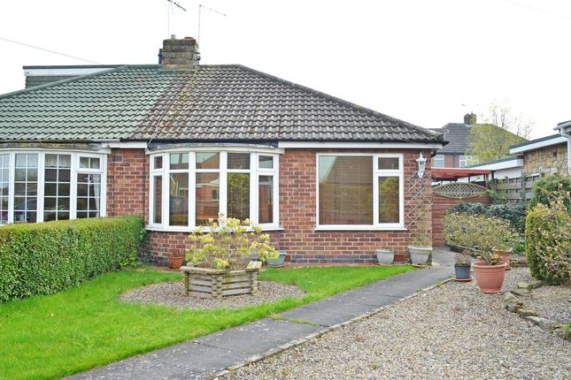 Thumbnail Semi-detached bungalow to rent in Hawthorn Spinney, Huntington, York