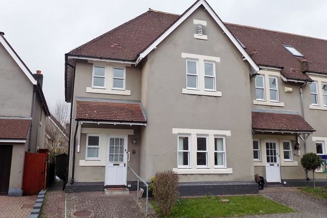 3 bed end terrace house for sale in Preswylfa Court, Merthyr Mawr Road, Bridgend.