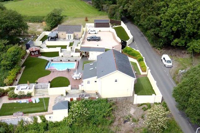 Thumbnail Detached house for sale in Crymlyn Road, Llansamlet, Swansea.