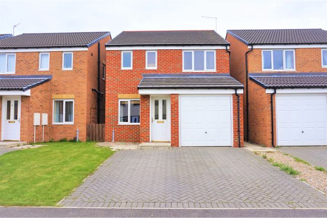 Thumbnail Detached house for sale in Barford Close, Redcar