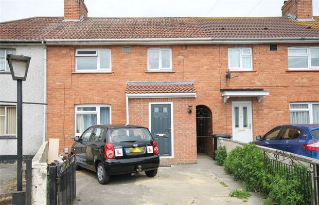 Thumbnail Terraced house to rent in Danbury Walk, Southmead, Bristol