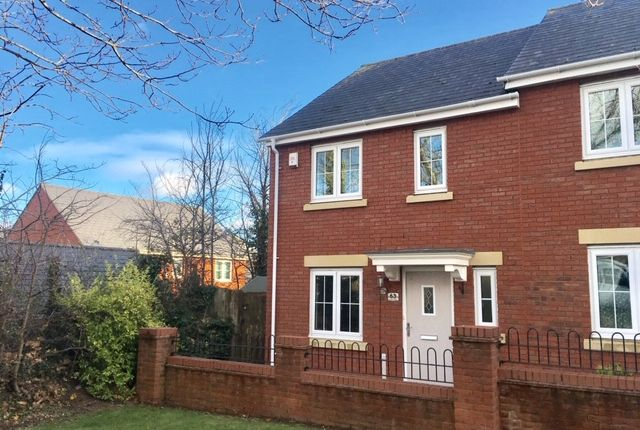 Thumbnail End terrace house to rent in Russell Walk, Exeter
