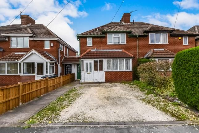 Thumbnail Semi-detached house for sale in Yew Tree Road, Shelfield, Walsall, West Midlands