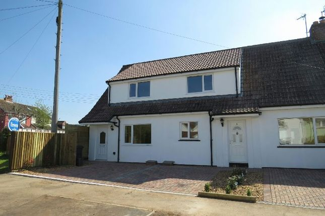 Thumbnail End terrace house for sale in Homefield Close, Winscombe