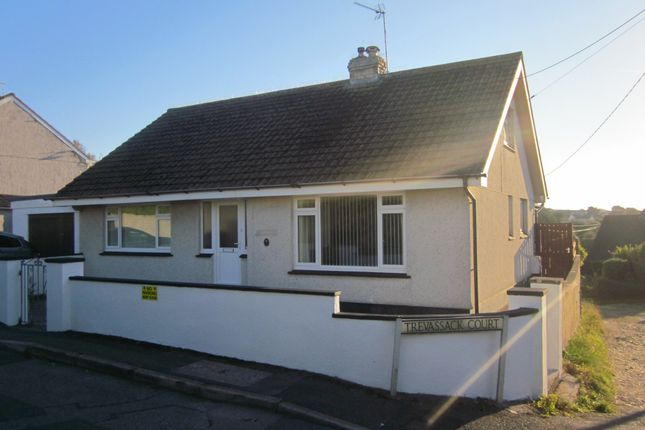 Thumbnail Detached bungalow for sale in Trevassack Court, Hayle