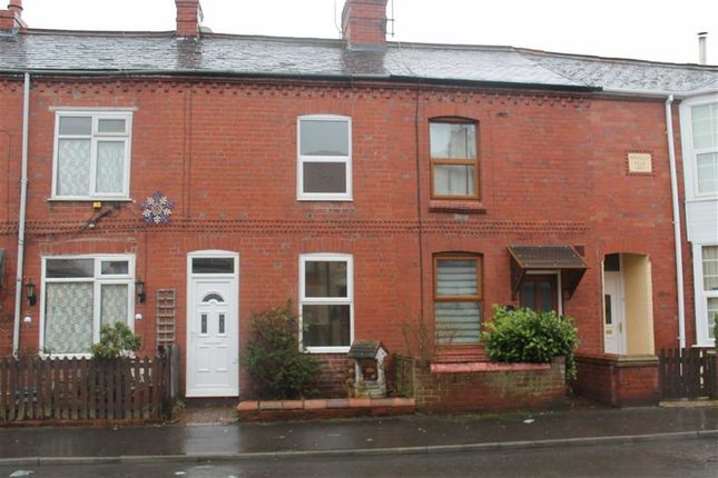 Thumbnail Terraced house to rent in York Street, Oswestry