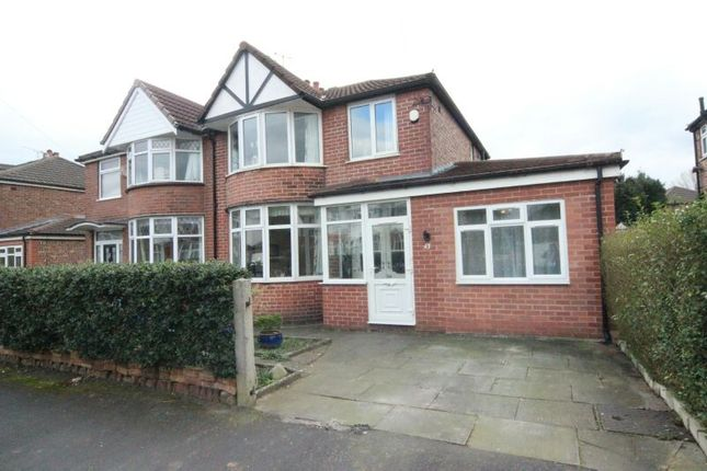 Thumbnail Semi-detached house for sale in Woodheys Drive, Sale