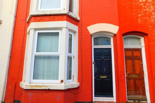 Outside  of St. Andrew Road, Anfield, Liverpool L4