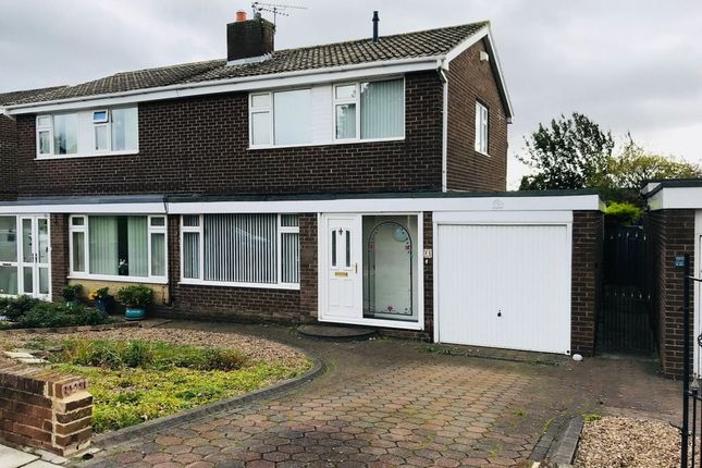 Thumbnail Semi-detached house for sale in Barrowburn Place, Seghill, Cramlington