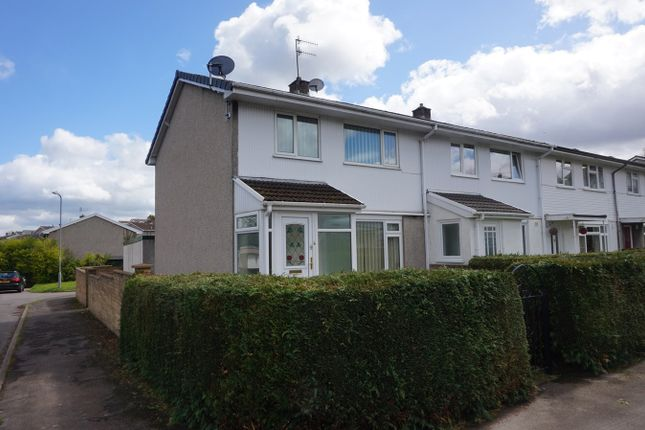 Thumbnail End terrace house for sale in Dan-Y-Bryn, Gilwern, Abergavenny