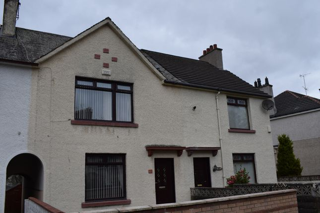 Thumbnail Terraced house for sale in Bellahouston Drive, Mosspark