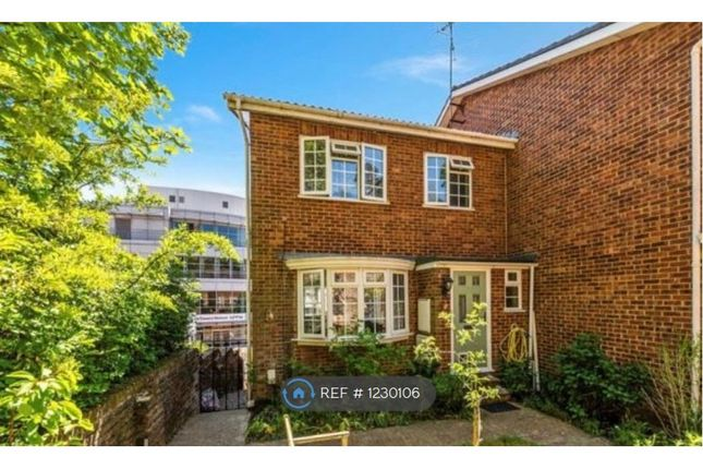 Thumbnail End terrace house to rent in Furze Close, Redhill