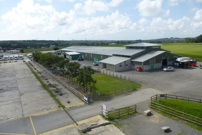 Thumbnail Land to let in Carew Airfield Business Park, Yard Areas (Storage), Tenby, Pembroke, Pembrokeshire