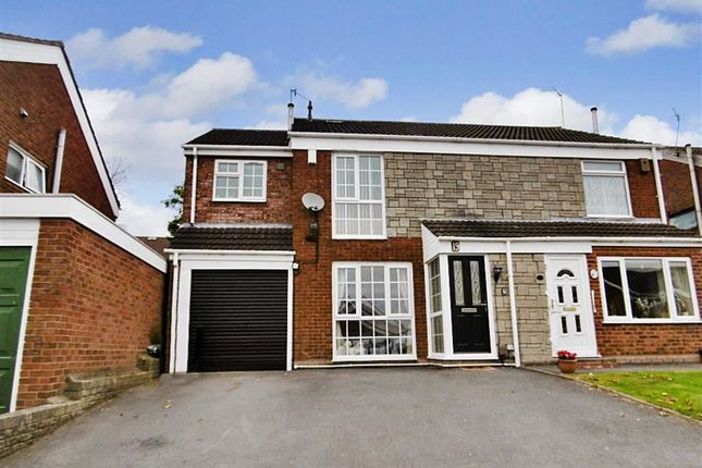 Thumbnail Semi-detached house for sale in Hern Road, Brierley Hill, Brierley Hill, West Midlands