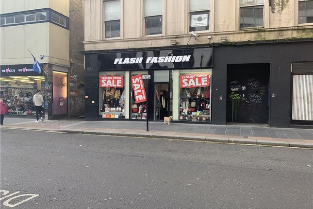 Thumbnail Retail premises to let in 21 Queen Street, Glasgow