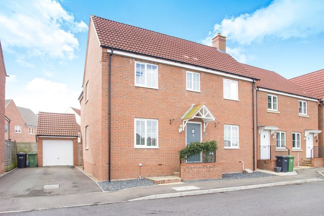 Thumbnail Detached house for sale in Riverview Way, Gaywood, King's Lynn