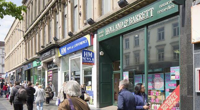 Thumbnail Retail premises for sale in 94-96 Sauchiehall Street, Glasgow