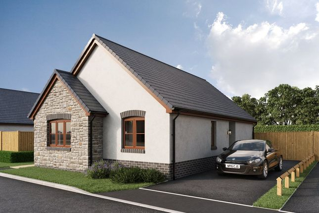 Thumbnail Detached bungalow for sale in Newton Fields, Kilgetty, Pembrokeshire