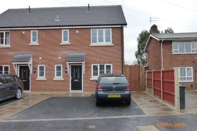 Thumbnail End terrace house to rent in Fastolff Court, Gorleston, Great Yarmouth