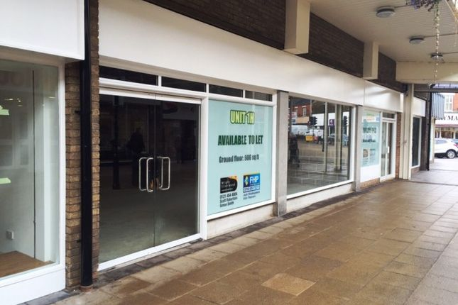Thumbnail Retail premises to let in Unit 1H Belvoir Shopping Centre, Coalville