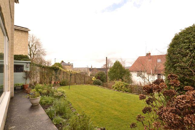 Rear Garden of Castle Gardens, Bath, Somerset BA2