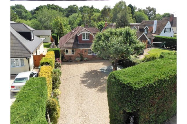 Thumbnail Detached house for sale in Chertsey Road, Chobham