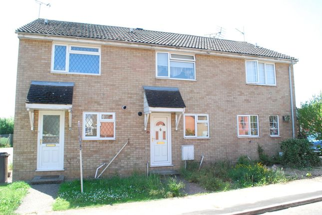 Thumbnail Terraced house to rent in Keats Close, Thetford