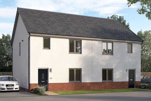 "Thumbnail Semi-detached house for sale in ""The Hazelbridge"" at East Kilbride, Glasgow"