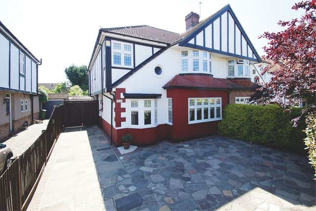 Thumbnail Semi-detached house for sale in Farwell Road, Sidcup, Kent