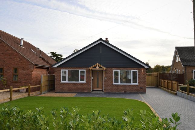 Thumbnail Detached bungalow for sale in Lodge Way, Grantham