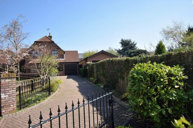 Thumbnail Detached house for sale in Oakleigh Drive, Oakleigh Park, Lincoln