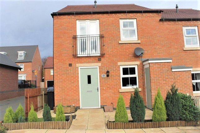 2 bed semi-detached house to rent in Suffolk Way, Church Gresley, Swadlincote DE11