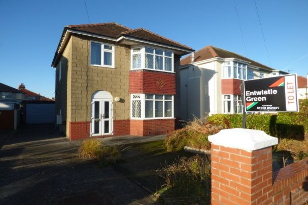 Thumbnail Detached house to rent in North Drive, Thornton-Cleveleys