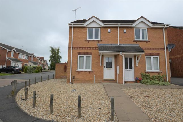 Thumbnail Semi-detached house to rent in Royce Close, Braunstone, Leicester