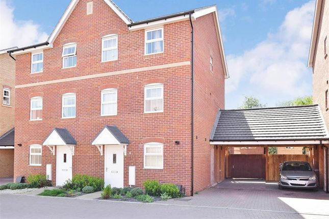 Thumbnail Semi-detached house for sale in Clifford Crescent, Sittingbourne, Kent