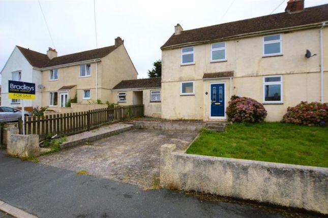 Thumbnail Semi-detached house for sale in Home Park, Landrake, Saltash, Cornwall