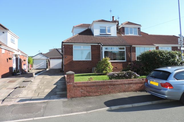 Thumbnail Semi-detached bungalow for sale in Carlton Way, Royton, Oldham