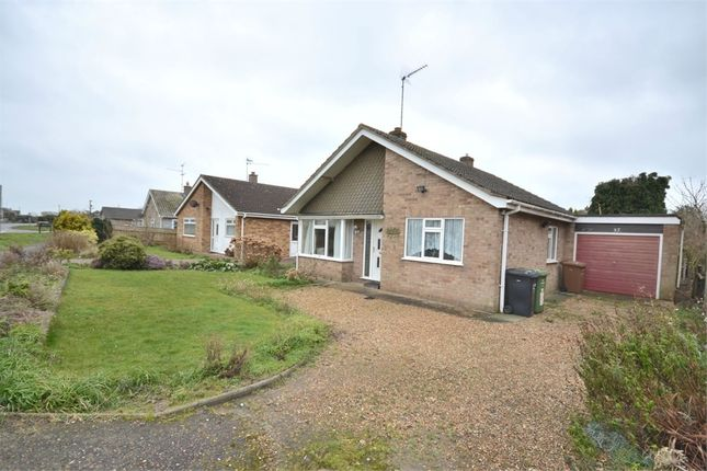 Thumbnail Detached bungalow for sale in Marsh Road, Terrington St. Clement, King's Lynn