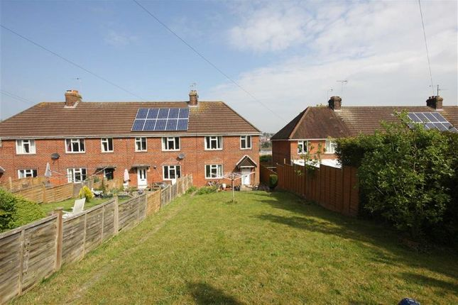 Thumbnail Terraced house to rent in Isbury Road, Marlborough, Wiltshire