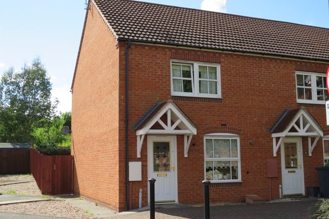 Thumbnail End terrace house for sale in Bromhurst Way, Chase Meadow, Warwick