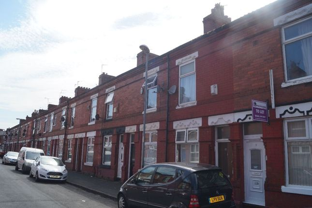 Thumbnail Terraced house to rent in Damien Street, Longsight