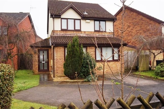 Thumbnail Detached house for sale in Heol Cambrensis, Pyle, Bridgend