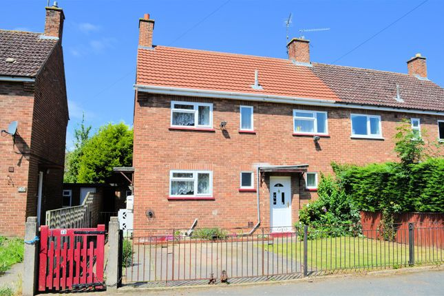 Thumbnail Semi-detached house for sale in Bishops Road, Gaywood, King's Lynn