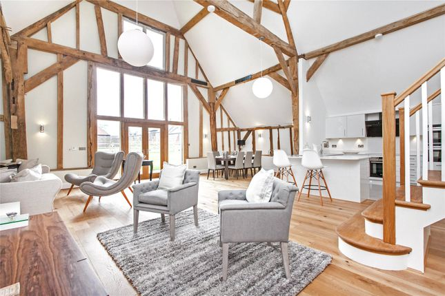 Thumbnail Flat for sale in Manor Barns, Hazeley Road, Twyford, Hampshire