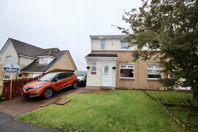 Thumbnail Semi-detached house for sale in Broompark Crescent, Airdrie