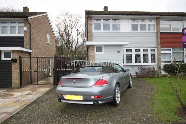 Thumbnail Semi-detached house to rent in Sunnymede, Chigwell