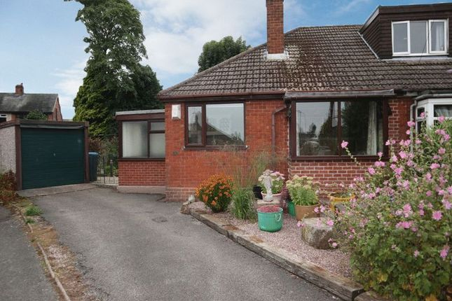 Thumbnail Semi-detached bungalow for sale in New Avenue, Draycott, Stoke-On-Trent, Staffordshire